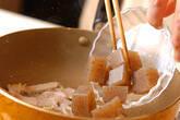 コンニャクの炒め煮の作り方3