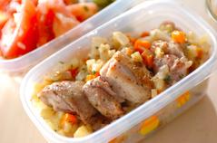 鶏肉の野菜ソース煮込み