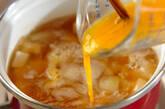 豆腐のかきたま汁の作り方6