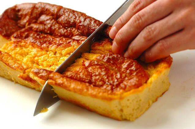 オーブンでふわふわだし巻き卵の作り方の手順3