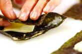 チーズのり天ぷらの作り方6