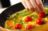 プチトマト入りカニ玉の作り方6