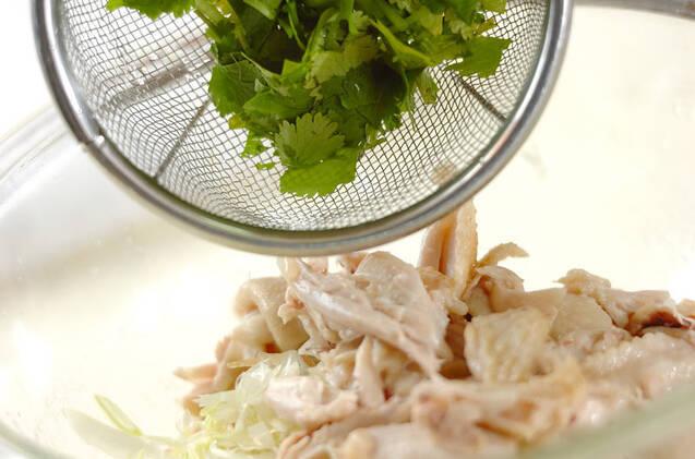冷製鶏スープ素麺の作り方の手順4