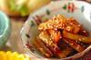 レンコンの炒め物の作り方の手順