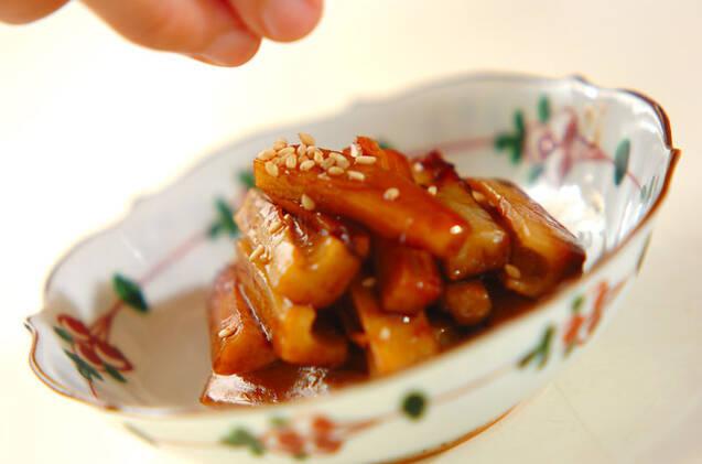 レンコンの炒め物の作り方の手順3