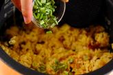 炊飯器でプラオ風チキンの炊き込みの作り方4