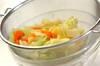 ザク切り春キャベツのからし和えの作り方の手順5