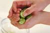 ザク切り春キャベツのからし和えの作り方の手順3