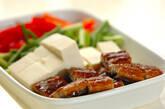 ウナギの中華炒めの下準備1