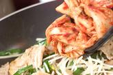 オム豚キムチの作り方2