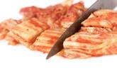 オム豚キムチの作り方1