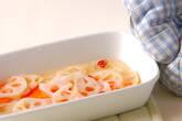 レンコンとニンジンの甘酢和えの作り方2