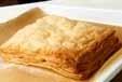アイスとパイのデザートの下準備2