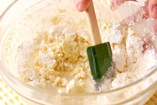 ほろほろ雪クッキーの作り方の手順2