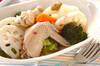 チキンと根菜のスープ煮の作り方の手順