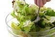 レタスの和風サラダの作り方の手順5