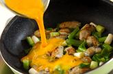 カキの卵焼きの作り方2