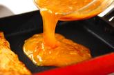 ナメタケとツナの卵焼きの作り方3