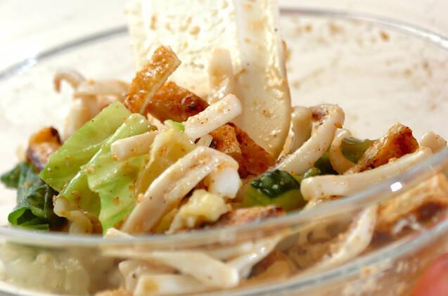 ゆでイカの和風サラダの作り方の手順7