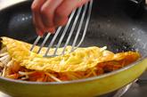 バインセオ(ベトナム風お好み焼き)の作り方3
