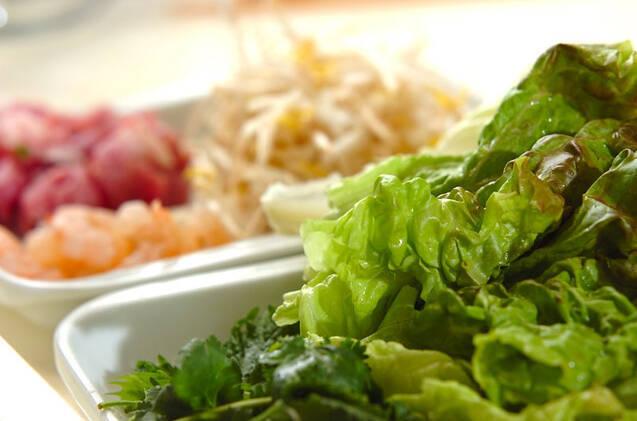 バインセオ(ベトナム風お好み焼き)の作り方の手順2