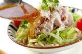 豚しゃぶのせサラダうどんの作り方6