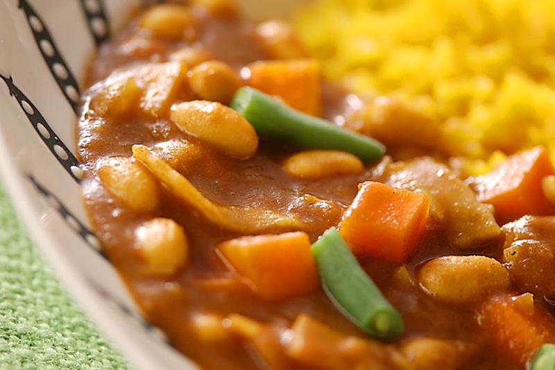 2.野菜と豆のカレー