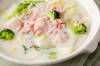 白菜のクリーム煮の作り方の手順