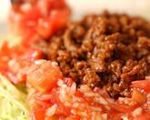 本格サルサのピリ辛タコライスの作り方6