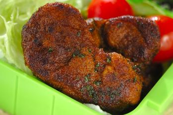 豚肉のカレー焼き