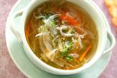 切干し大根のスープ