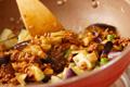 ナスの炒め物 レタス包みの作り方3