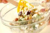 お豆とキュウリのサラダの作り方4