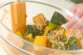 煮カボチャのゴマ和えの作り方4