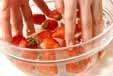 簡単イチゴパフェの下準備1