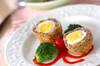 ゆで卵まるごと!スコッチエッグの作り方の手順