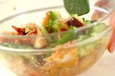 キュウリとタコのピリ辛ゴマ和えの作り方4