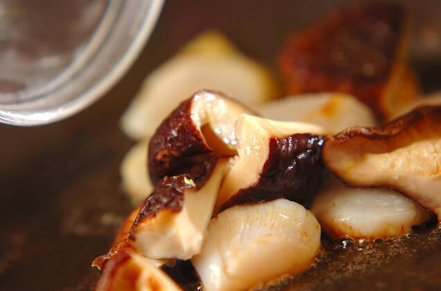 ブロッコリーとホタテの塩炒めの作り方の手順6