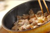 鶏肉とコンニャクの甘煮の作り方1