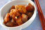 鶏肉とコンニャクの甘煮