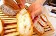ガーリックトーストの作り方3
