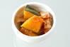 カボチャのベーコン煮の作り方の手順