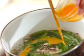 キクラゲ入り酸辣湯の作り方3