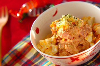 トマトのポテトサラダ