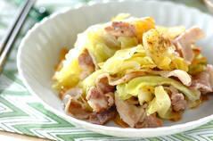 豚バラ肉と春キャベツの塩蒸し