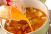 ユリネと豆腐の卵とじの作り方2