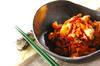 シンプル豚キムチの作り方の手順