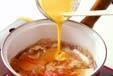 ユリネの卵とじの作り方7