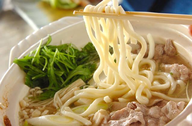 手作りポン酢とたっぷり薬味の豚しゃぶ鍋の作り方の手順9