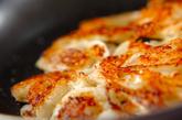 玉ネギとホタテのチヂミの作り方2
